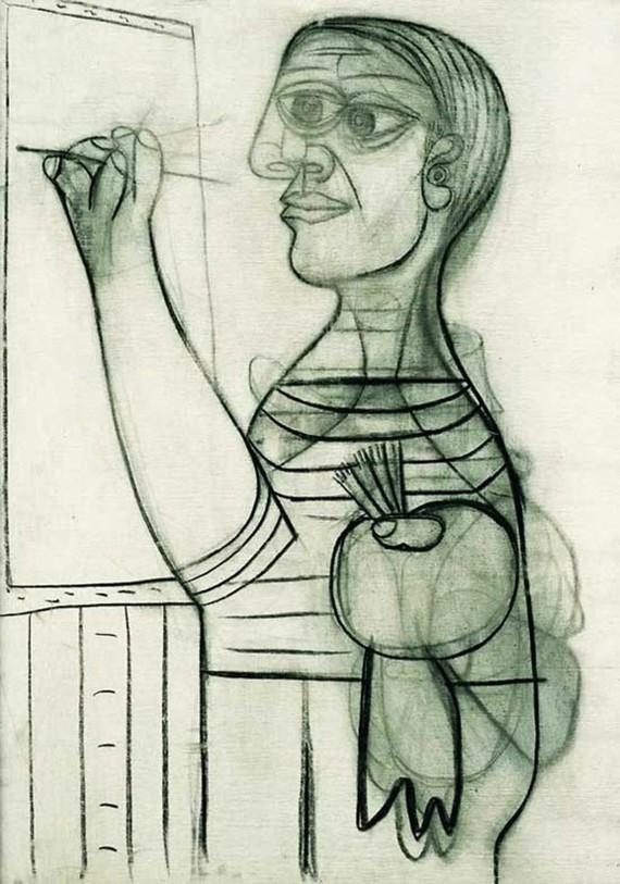 Pablo Picasso Selbstporträt 1938