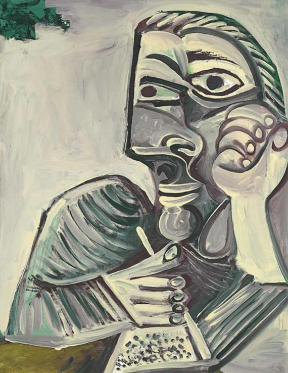 Pablo Picasso Selbstporträt 1971