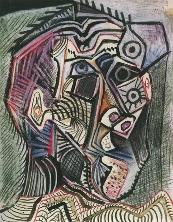 Pablo Picasso Selbstporträt 1972 28 Juni