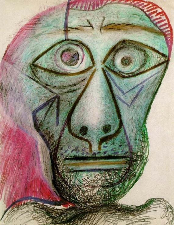 Pablo Picasso Selbstporträt 1972 30 Juni
