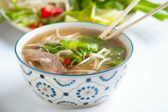 Pho Suppe Rezept Rindfleisch Nudeln Suppe