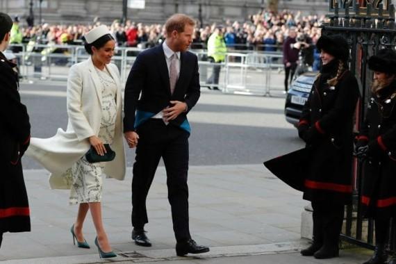 Royal Baby Junge Prinz Harry Meghan Markle