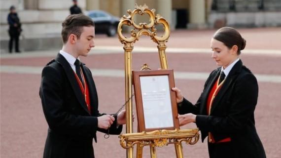 Royal Baby Prinz Harry Meghan Markle Buckingham Palace