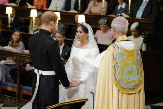 Royal Baby Prinz Harry Meghan Markle Hochzeitstag Erzbischof