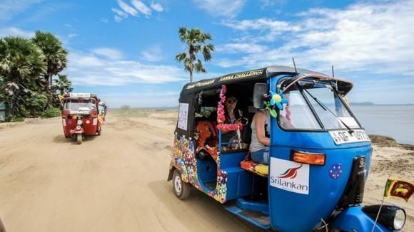 Sri Lanka Reisetipps Tuk Tuk Strand
