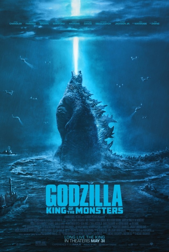 Top 15 bevorstehende Sommer Filme godzilla kind of monsters poster