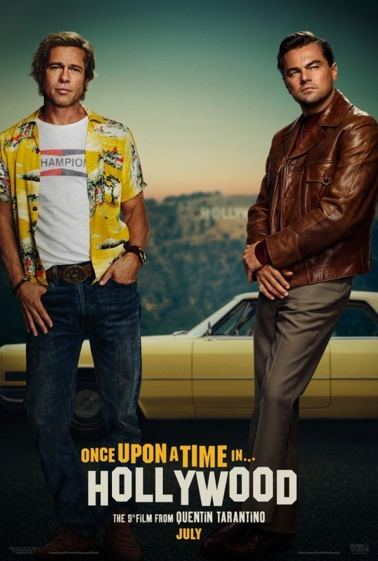 Top 15 bevorstehende Sommer Filme once upon a time in hollywood poster