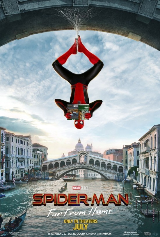 Top 15 bevorstehende Sommer Filme spider man far from home poster