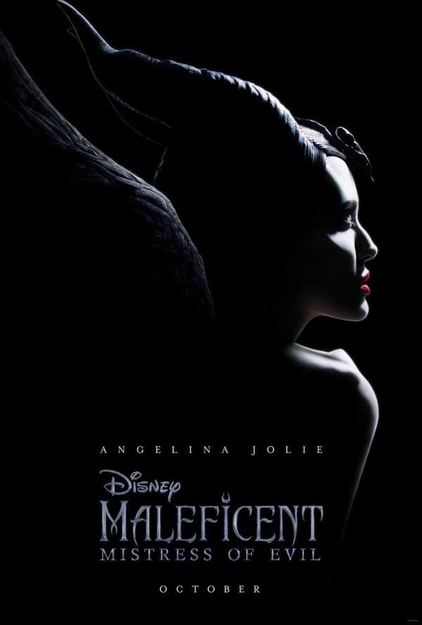 der Poster mit Angelina Jolie