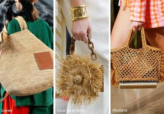 designer handtaschen 2019 aus naturmaterialien