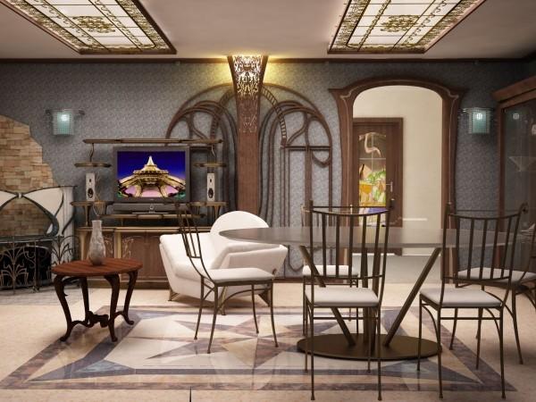 elegante möbel als design für art deco