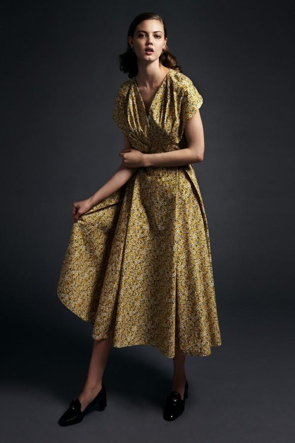 goldene Pracht Modetrends