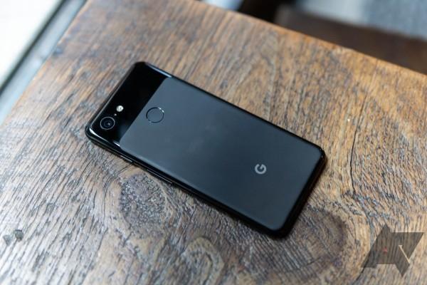 google pixel schwarzes design