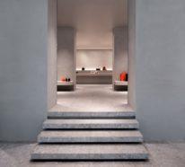 John Pawson realisiert die Innenräume im Galeriestil fürs Geschäft Valextra in Mailand
