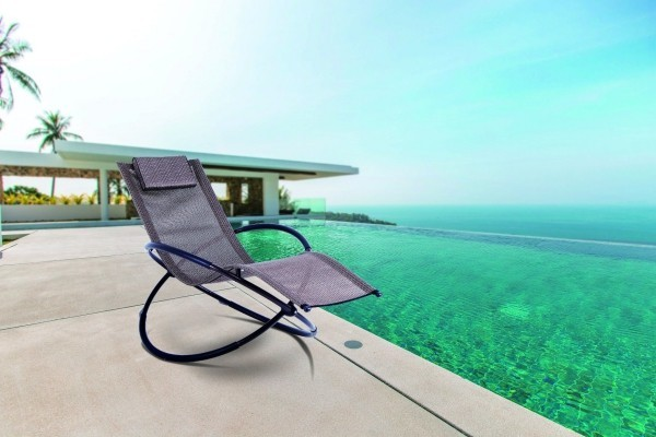 lounge sessel am traumstrand