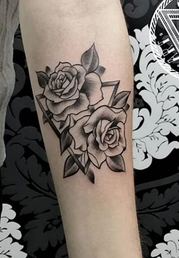 rosen ideen tattoo ideen