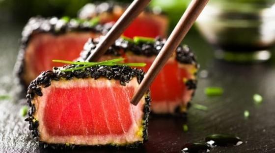 schwarzer Sesam gesund asiatische Küche Sesamsamen Sushi