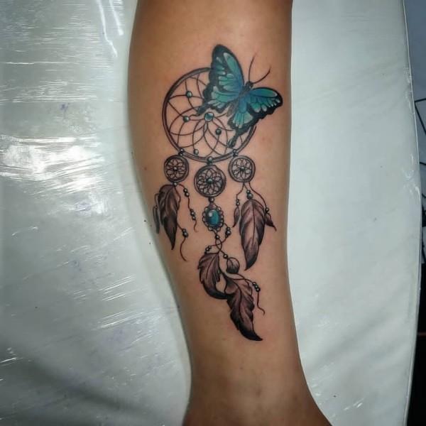 tattoo ideen mehrere federn