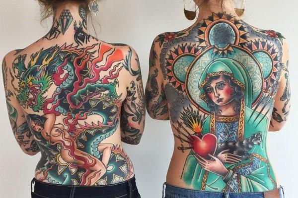 tattoo ideen religiöses thema