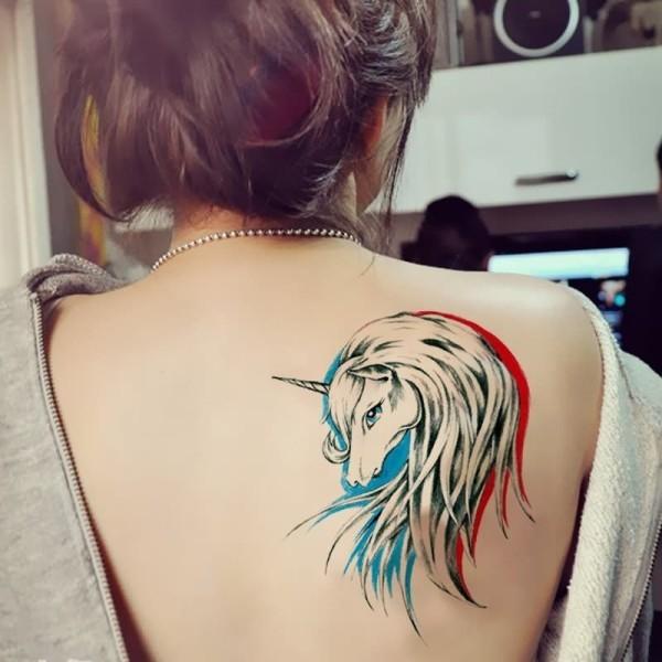 tattoo ideen tolles pferd