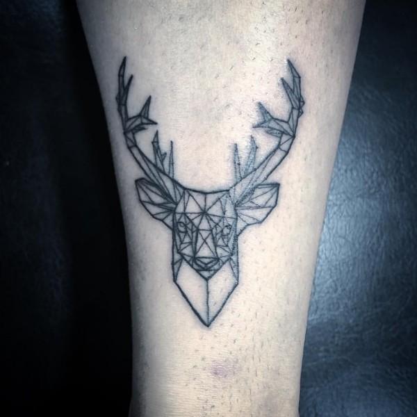 toller hirsch tattoo ideen