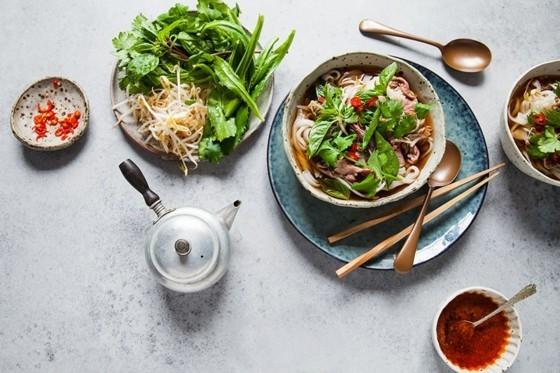 vietnamesische Küche Pho Suppe Rezept Heilmittel
