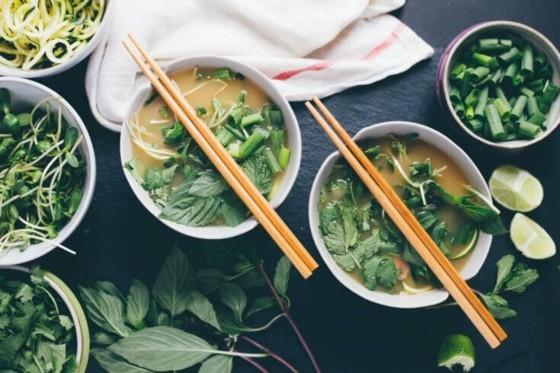 vietnamesische Küche Pho Suppe Rezept Zutaten