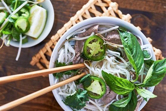 vietnamesische Küche Pho Suppe Rezept Reisnudeln