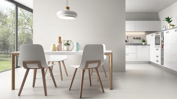 weiße Inneneinrichtung Küchentrends 2019