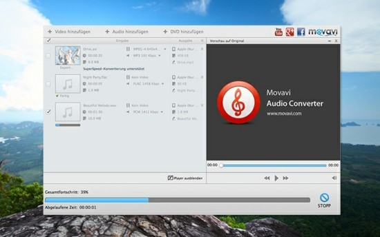 wma in mp3 umwandeln movavi audio converter