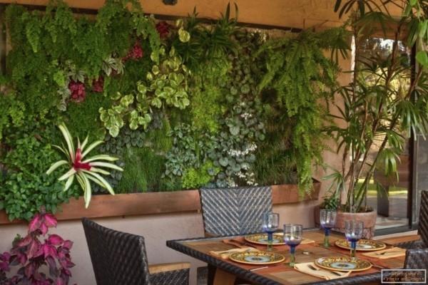 üppige pflanzen im essraum wohnideen