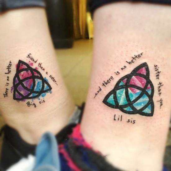 170 kreative Geschwister Tattoo Ideen und Inspirationen keltisches symbol knoten schwester