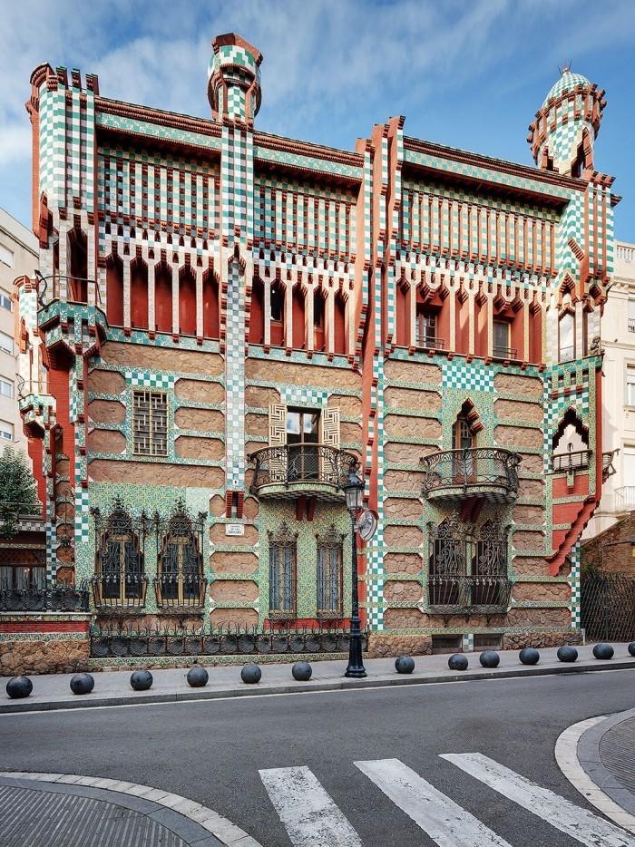 Antoni Gaudi Casa Vicens Auftragsarbeit von einem vermögenden Börsenmakler