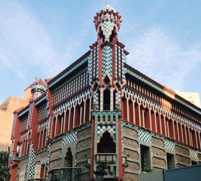 Antoni Gaudi Casa Vicens erste große selbständige Arbeit des Architekten