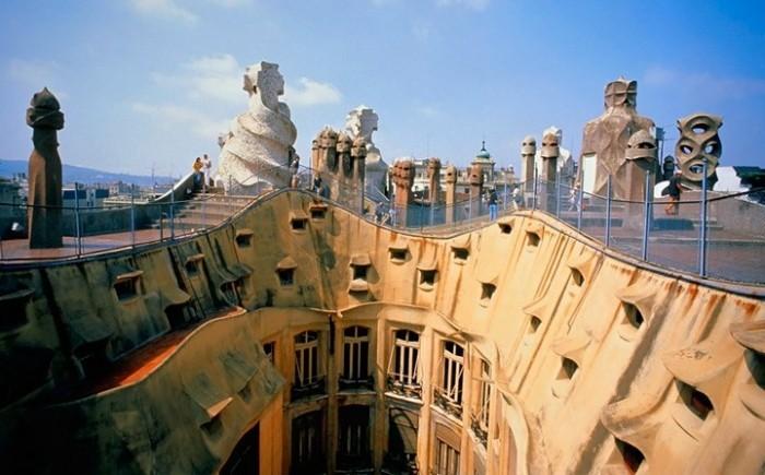 Antoni Gaudi geschwungene Formen Bischofspalast in Astorga