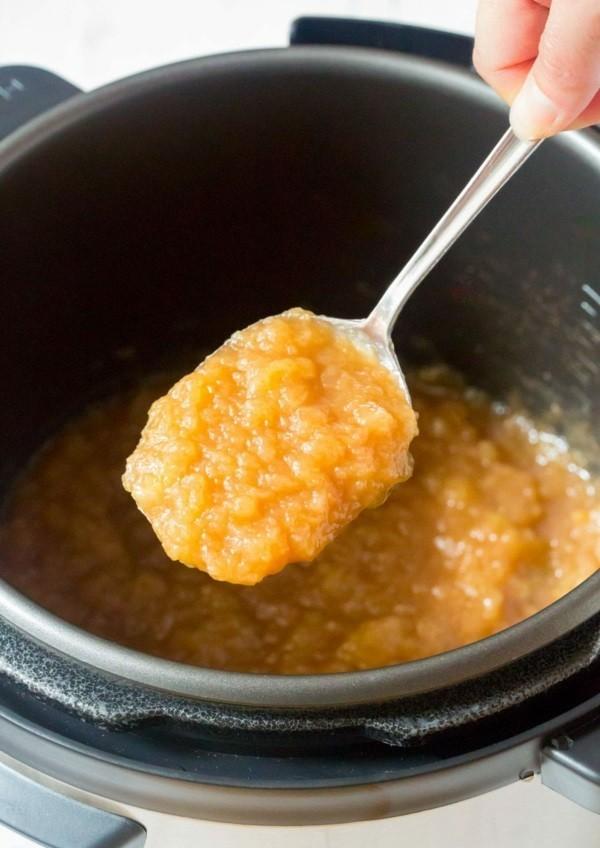 Apfelmus selber machen Apfelbrei kochen