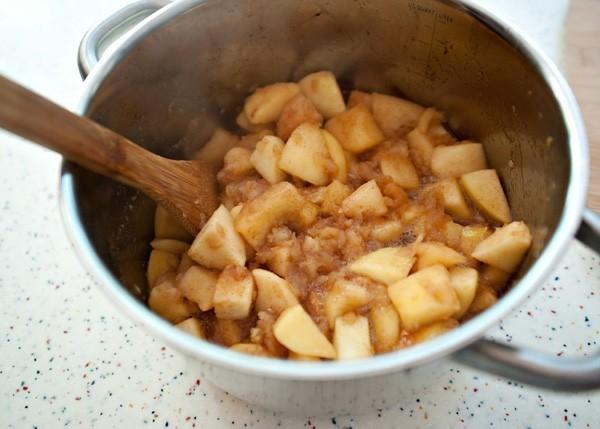 Apfelmus selber machen Apfelbrei zubereiten