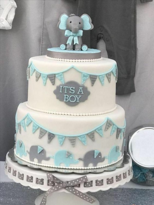 Babytorte Baby Shower Babyparty Torte Junge