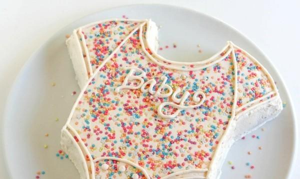 Babytorte Junge Baby Shower Babyparty Torte selber machen