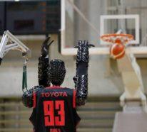 Basketball Roboter erzielt Guinness Rekord mit 2.020 perfekten Würfen
