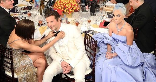 Bradley Cooper Lady Gaga Irina Shayk peinliche Situation