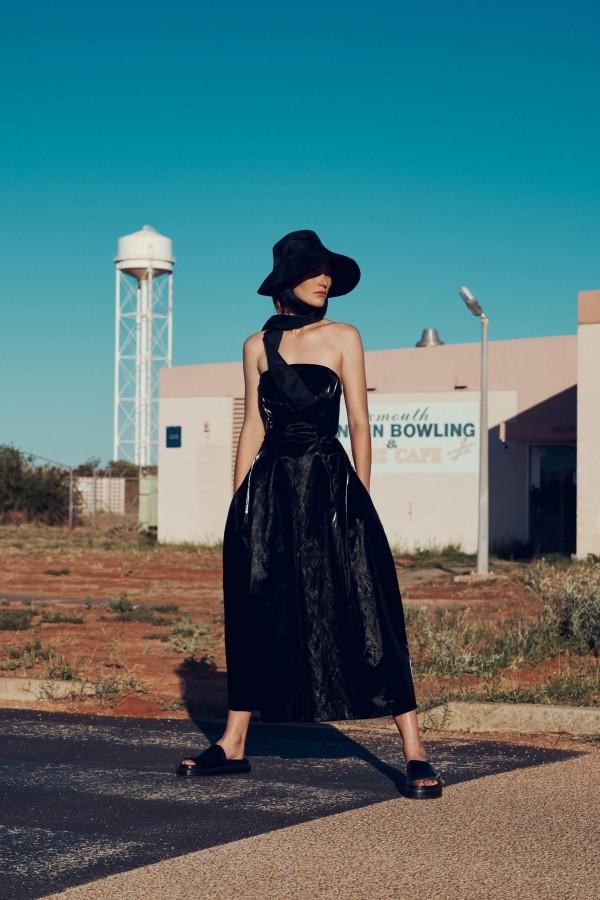Damenkleider tolle schwarze Idee