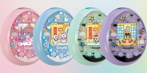 Das Tamagotchi kehrt mit neuen Funktionen zurück neue version vier farben pastellfarben