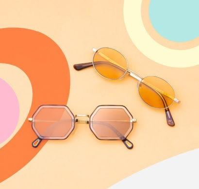 Designer Überdimensional Quadratische Sonnenbrille Schmetterling Große Großen