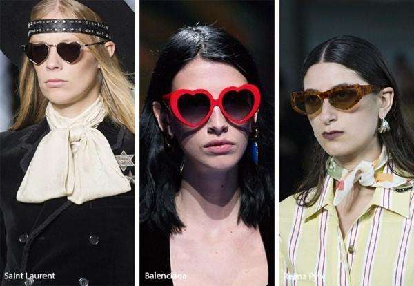 Designer Sonnenbrillen 2019 Trends Brillen herzförmiger Rahmen