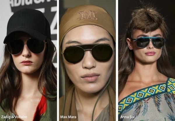 Designer Sonnenbrillen 2019 Trends Pilotenbrillen