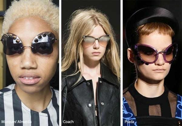 Designer Sonnenbrillen 2019 Trends Schmetterling Brillen