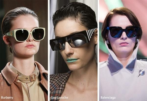 Designer Sonnenbrillen 2019 Trends Sonnenbrillen schwarze Gläser