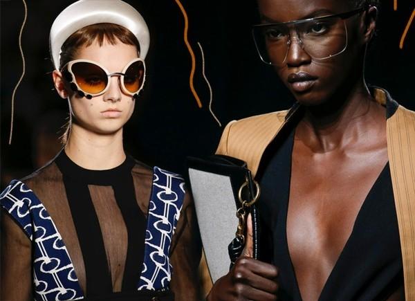 Designer Sonnenbrillen Trends Frühling Sommer 2019 Form Farbe Tendenzen