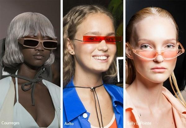 Designer Sonnenbrillen Trends Frühling Sommer 2019 Micro Sonnenbrillen